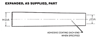 313F 322-386 Straight Boot Heatshrink Shapes